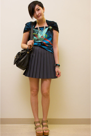 Threadless shirt - vintage accessories - accessories - skirt - Pierre Hardy for 