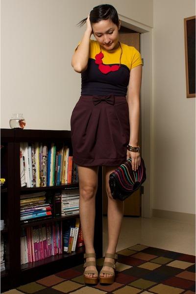 shirt - accessories - neneee top - neneee skirt - vintage accessories - Pierre H