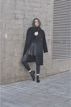 H&M shoes - H&M coat - H&M skirt - Zara pants