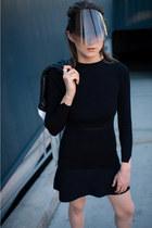 Zara dress - Adidas jacket - Esprit sandals