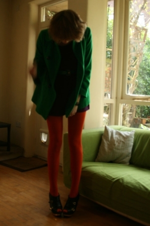 tights - coat - aa - belt