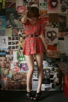 Topshop dress - Camden Market belt - Faith shoes