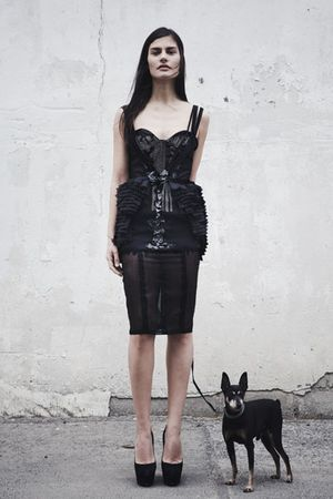 black Mikhael Kale dress