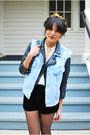 Ivory-sheer-vintage-blouse