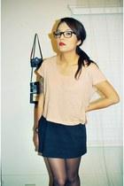 cropped H&M shirt - mini Forever 21 skirt