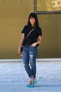 Blue-american-eagle-outfitters-jeans-brown-louis-vuitton-purse