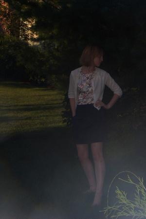 vintage dress - delias skirt - American Eagle - Forever21 necklace
