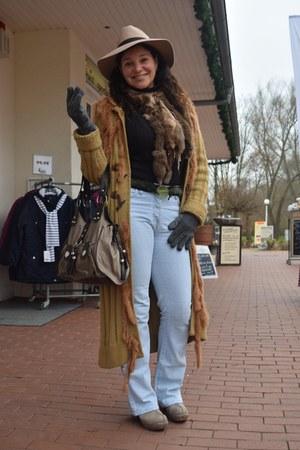 Mango jeans - asos hat - Sfera sweater - Promod gloves
