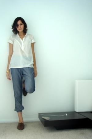 Zara shirt - Zara pants - vintage from etsy shoes