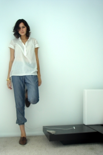 Zara shirt - Zara pants - vintage from etsy shoes