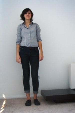custom from bkk shirt - Zara jeans - Topshop shoes