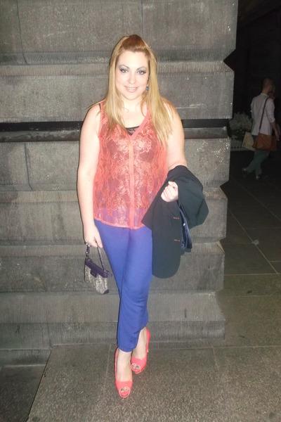 famous heels - Sportsgirl shirt - ck bag - Cotton On Body top - supre pants