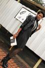 Black-sparkle-thrifted-vintage-dress-black-jacket