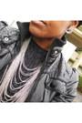 Black-jacket-black-sparkle-thrifted-vintage-dress