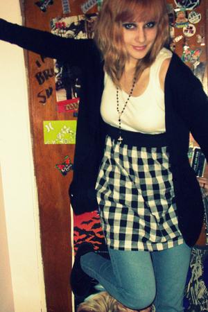 dress - jeans - jacket