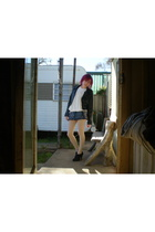 Jay Jays jacket - Valley Girl top - Grab skirt - Sports Girl socks - - Kmart sho