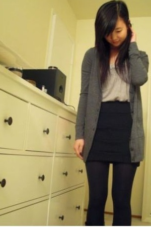 BCX sweater - free people top - from haight street skirt - Steve Madden boots -