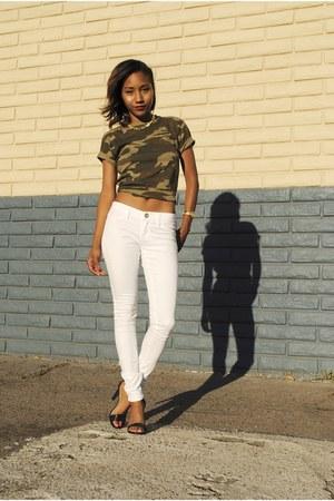 white Tillys jeans