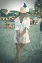 H&M hat - Topshop shirt