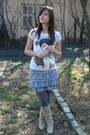 Gray-new-yorker-skirt-gray-unknown-tights-beige-dosenbach-boots-white-unkn