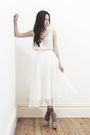 White-gary-pepper-vintage-skirt-pink-thrifted-top-beige-miu-miu-shoes-pink