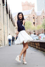 Aquamarine-zara-shirt-white-american-apparel-skirt