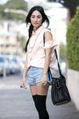 Orange-diy-alexander-wang-shirt-blue-camilla-and-marc-shorts-black-topshop-s