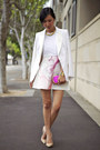 Ivory-michael-lo-sordo-jacket-hot-pink-asos-bag-gold-asos-ring