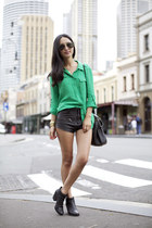 black Rachel Comey boots - black Alexander Wang bag