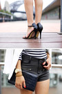 Black-gary-pepper-vintage-bag-white-zara-jacket-black-friend-of-mine-shorts