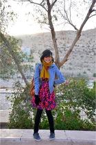 Converse shoes - pull&bear jacket - blouse - Guess purse - Zara leggings - Guess