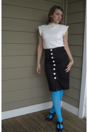 Scott top - charlotte rousse skirt - Steve Madden shoes