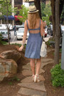 Blue-urban-outfitters-dress-cream-forever21-hat-cream-coach-purse-ivory-bc