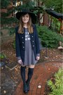 Black-jeffrey-campbell-boots-gray-wildfox-couture-dress-navy-forever-21-coat