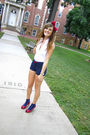 Red-forever21-accessories-white-new-york-and-co-top-blue-charlotte-russe-sho