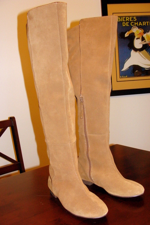 brown Urban Outfitters boots