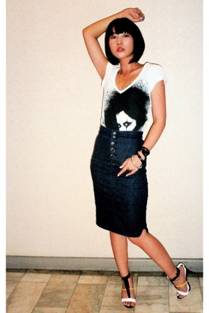 Mango shirt - Mango skirt - Stellaluna shoes