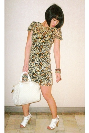 Topshop dress - Matthews shoes - Louis Vuitton purse