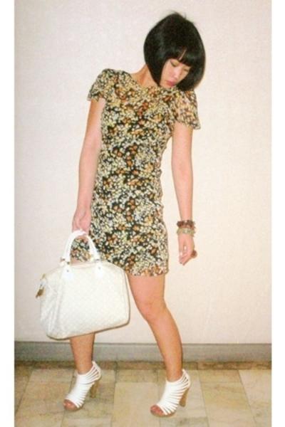 Topshop dress - Matthews shoes - Louis Vuitton purse