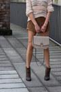 Neutral-topshop-sweater-dark-brown-rag-bone-boots-dark-brown-topshop-shorts
