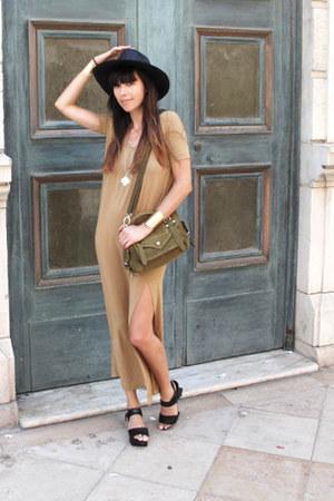 olive green suede satchel Great by Sandie bag