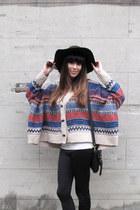 rag & bone boots - vintage jumper - Nina Maya pants