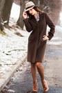 Brown-cashmere-coat-beige-wool-asos-hat