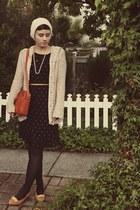 Forever 21 hat - Goodwill dress - vintage heels