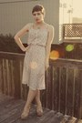 Goodwill-dress-forever-21-wedges