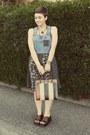Goodwill-dress-vintage-purse