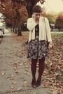 Goodwill-belt-gap-shirt-vintage-skirt-goodwill-heels