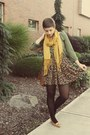 Goodwill-cardigan-target-scarf-goodwill-heels-urban-outfitters-skirt