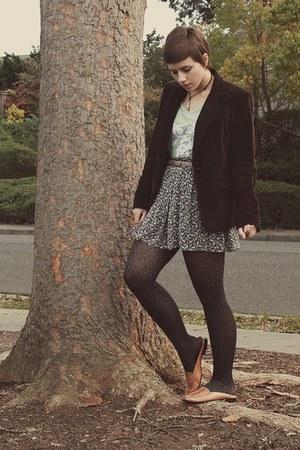 Goodwill blazer - Zara skirt