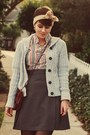 Ross-boots-vintage-top-american-apparel-skirt